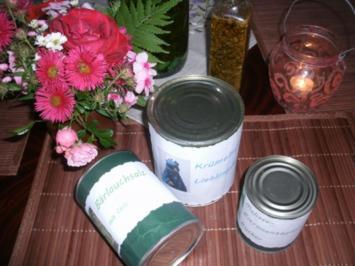 Geschenke aus der Küche- Geschenkverpackung- Dose - Rezept