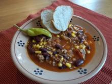 Lazy lumped Beans !  ---- Chili con Carne für ganz Fixe... - Rezept