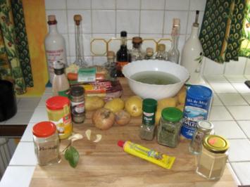 Rezept: Kara`s Erbsensuppe us d ´r Lamäng