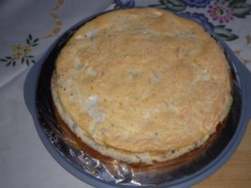 Apfelkuchen mit Baiserhaube - Rezept