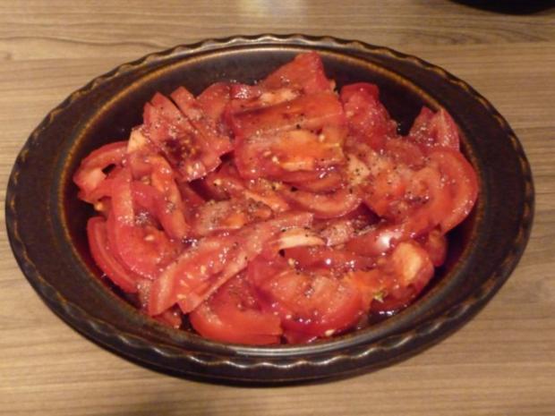 Salat : Tomatensalat ganz fix - Rezept - Bild Nr. 2