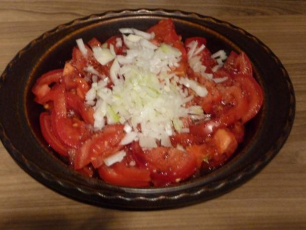 Salat : Tomatensalat ganz fix - Rezept - Bild Nr. 4
