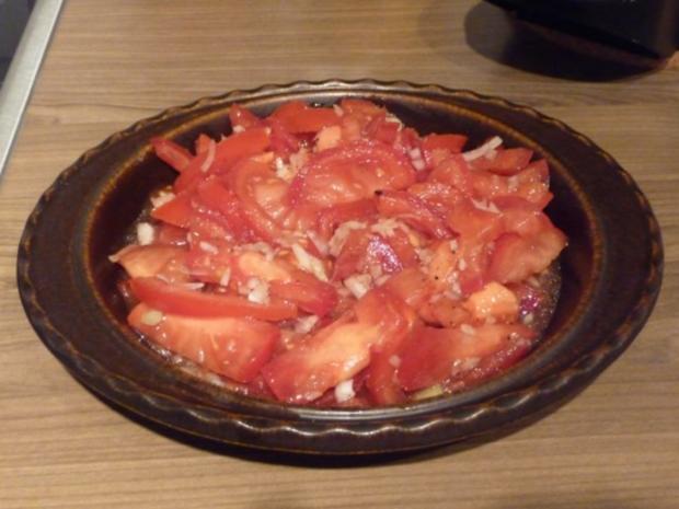 Salat : Tomatensalat ganz fix - Rezept - Bild Nr. 3