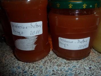 Marmelade: Nektarine-Melone-Mango - Rezept