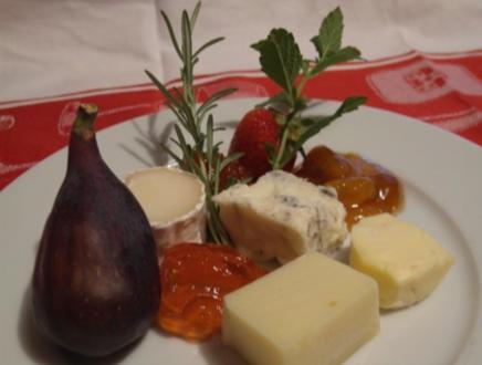 Konfitüre zu Käse - Rezept