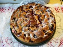 Schneller Pflaumenkuchen - Rezept