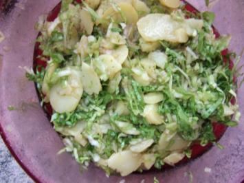 Kartoffelsalat 3. mit Endivien Dieter´s Art - Rezept