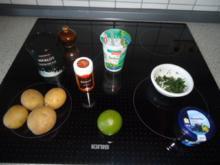 Kaviar Kartoffel-Turm - Rezept