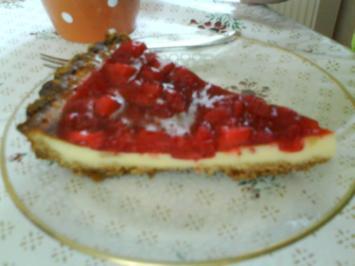 Strawberry Cheescake - Rezept