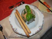 Garnelen mit grünem Spargel - Rezept