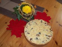 Zwetschgenkuchen mit Butterstreuseln - Rezept