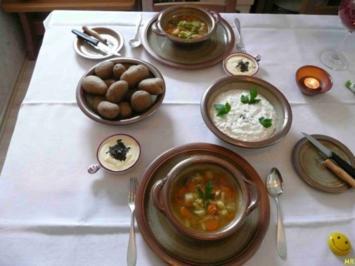 Suppen & Eintöpfe : Gemüsesuppe - Rezept