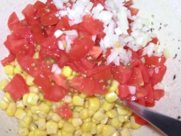 Mais-Tomaten-Salat - Rezept - Bild Nr. 2