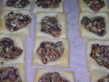 Blätterteig-Pilz-Kissen - Rezept