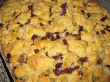 Apfelkuchen mit pfiffigen Streuseln.... - Rezept