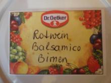 Rotwein-Balsamico-Birnen - Rezept