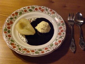 Rezept: Birne Helene mit Sauce au chocolat legere
