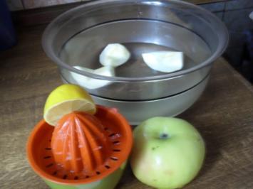 Kuchen: Apfelkuchen mit Sahne-Weißwein-Guss - Rezept