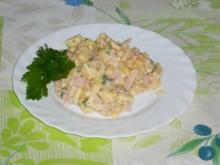Käse-Mango-Salat - Rezept