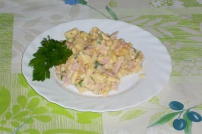 Rezept: Käse-Mango-Salat