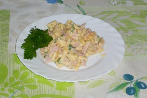 Käse-Mango-Salat - Rezept - Bild Nr. 4