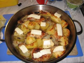 Zitronenhähnchen griechische Art - Rezept