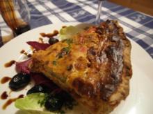 Quiche aus Ratatouille-Resten - Rezept