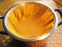 Thunfisch-Spaghetti in Zitronensoße - Rezept