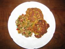 Gemüse: Würzige Kartoffel-Zucchini-Taler - Rezept