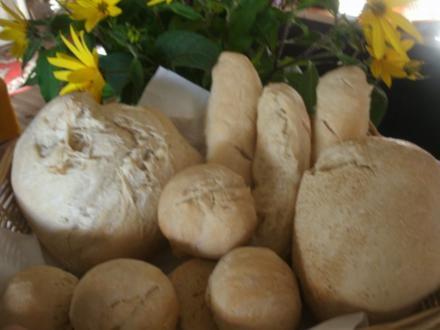 Brote, Brötchen, Stangen, Pizzateig aus Weizen- oder Dinkel- S A U E R T E I G - Rezept