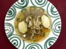 Suppe mit Frittaten und Grießnockerl (Andrea Spatzek) - Rezept