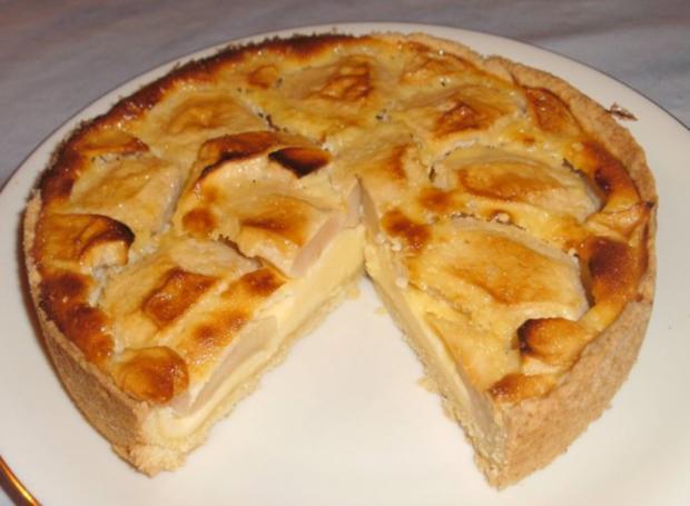 Mini Apfel Rahmkuchen Rezept Mit Bild Kochbar De