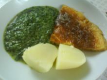 Rahmspinat mit Omlette - Rezept