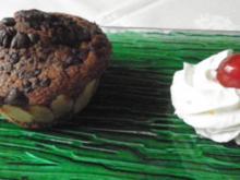 Schoko - Mandel - Rotwein - Muffins - Rezept