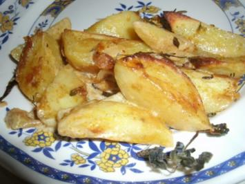 Sahnekartoffeln aus dem Backofen mit Gyrosgewürz - Rezept