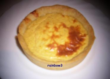 Auflauf: Mini-Kürbis-Frischkäse-Quiche - Rezept
