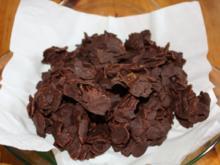 Dunkle Schoko-Crossies - Rezept