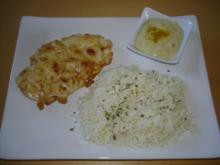Mandelschnitzel mit Bananen-Curry-Soße - Rezept