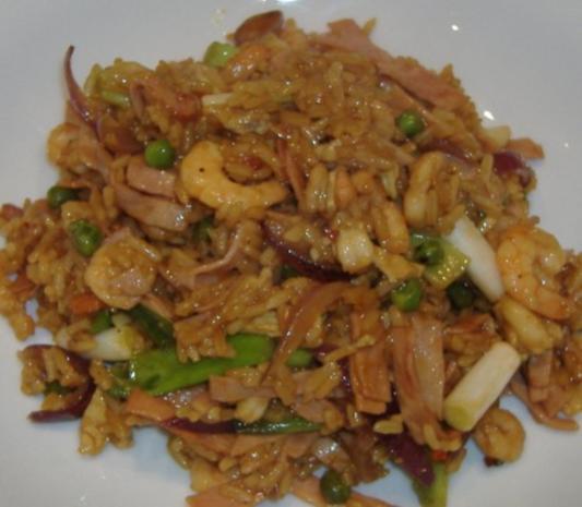 Gebratener Reis auf chinesischer Art - Rezept - Bild Nr. 4