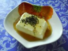Süßer Tofu Pudding - Rezept