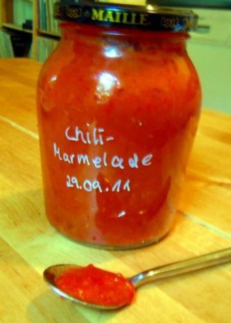 Chili-Marmelade - Rezept