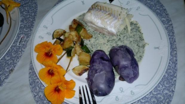 """""""Sandwich"""" von Rotbarsch und Kingklip Fisch - Rezept"""