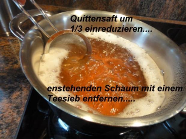 M+G:   QUITTENSAFT - Herstellung - Rezept - Bild Nr. 6