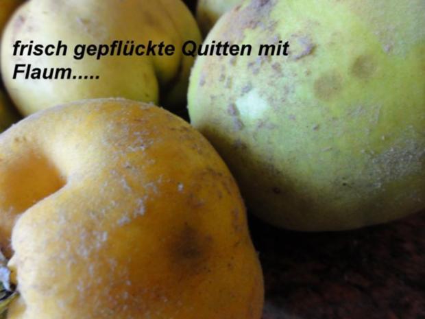 M+G:   QUITTENSAFT - Herstellung - Rezept - Bild Nr. 2