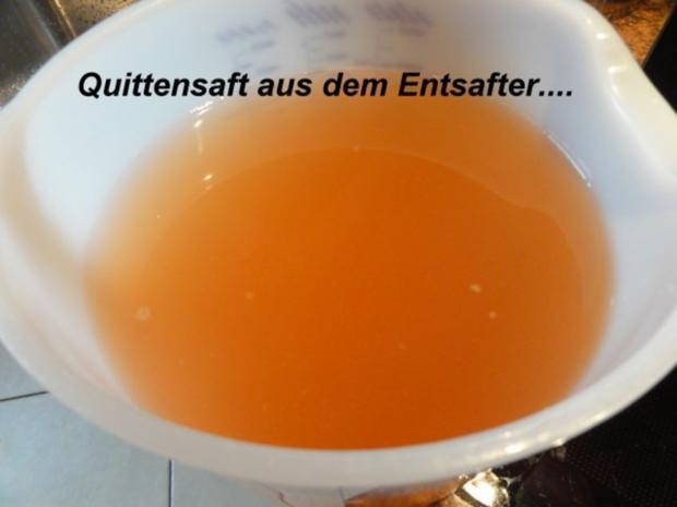 M+G:   QUITTENSAFT - Herstellung - Rezept - Bild Nr. 5