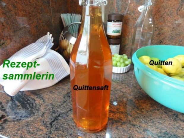 M+G:   QUITTENSAFT - Herstellung - Rezept