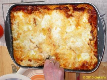 Hauptgericht - Steinpilz- Lasagne - Rezept