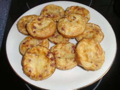 Flammkuchen-Snack - Rezept