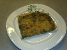 Pizza Spinat-Schinken-Blauschimmelkäse - Rezept