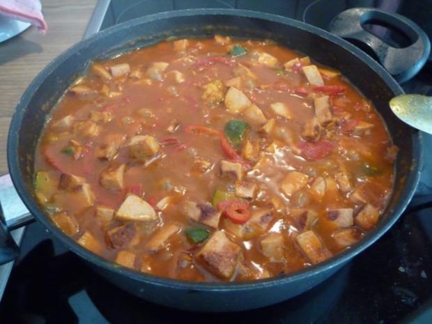 Pfannengerichte : Bunte Pfanne mit Spaghetti - Rezept - Bild Nr. 14